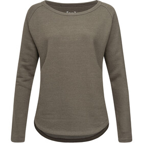 super.natural Knit Sweater Damen killer khaki melange